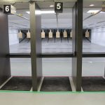 Our range is a 20 yard, 10 lane range that is both Bullseye and Tactical.